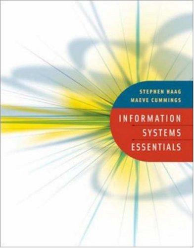 9780073105819: Information Systems Essentials