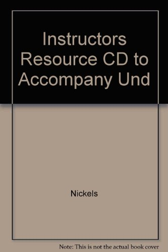 9780073106120: Instructors Resource CD to Accompany Und