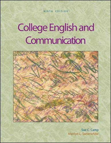 9780073106502: College English and Communication