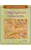 9780073106526: Student Activity Workbook to accompany College English and Communication