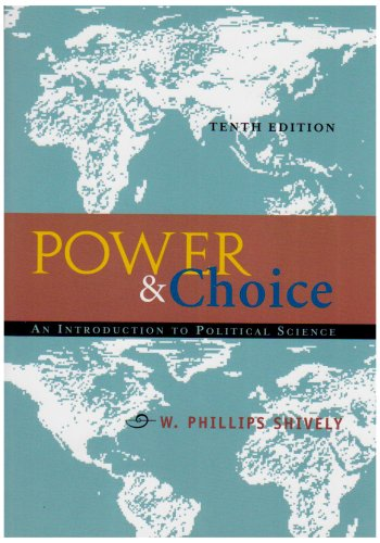 9780073106786: Power and Choice