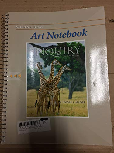 9780073106854: Student Art Notebook t/a Inquiry into Life