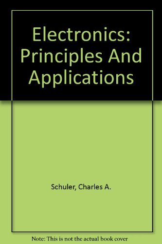 9780073106946: Electronics: Principles And Applications