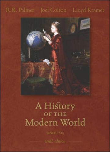 9780073107486: A History of the Modern World: Since 1815