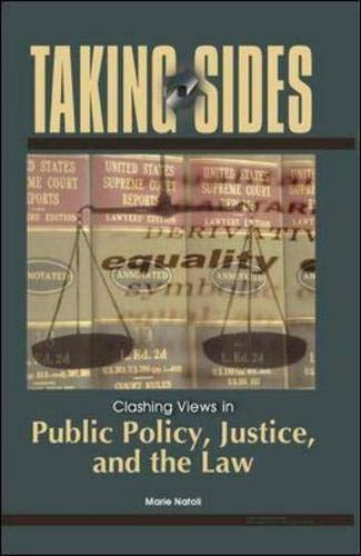 9780073108346: Taking Sides: Clashing Views in Public Policy, Justice, and the Law (Taking Sides: Public Policy, Justice, & the Law)