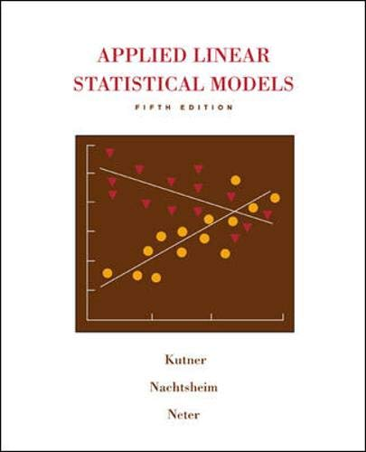 9780073108742: Applied Linear Statistical Models with Student CD