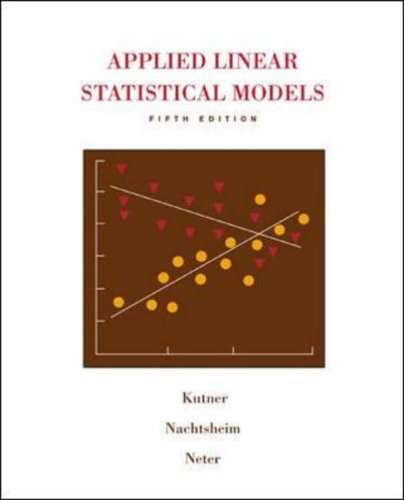 9780073108742: Applied Linear Statistical Models