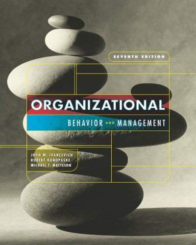 9780073109633: MP Organizational Behavior and Management w/OLC/PW Card