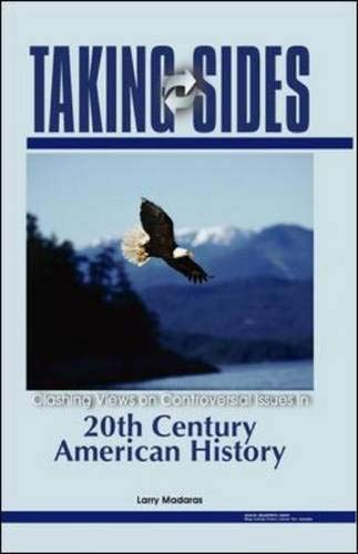 9780073111629: Taking Sides: 20th Century American History
