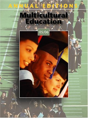 9780073111650: Annual Editions: Multicultural Education 05/06