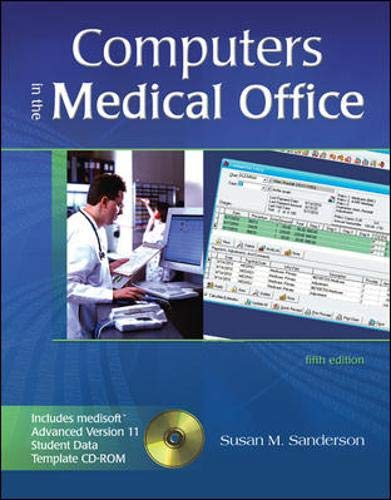 9780073112138: Computers in the Medical Office with Student Data CD-ROM