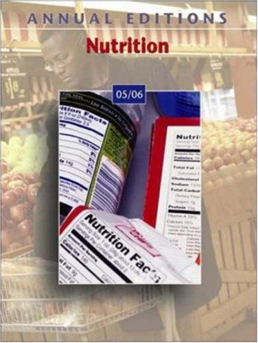 9780073112206: Annual Editions: Nutrition 05/06
