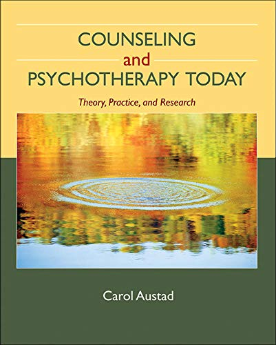 9780073112251: Counseling and Psychotherapy Today: Theory, Practice, and Research