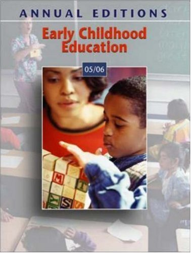 9780073112534: Annual Editions: Early Childhood Education 05/06