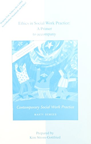 9780073121543: Ethics in Social Work Practice: A Primer