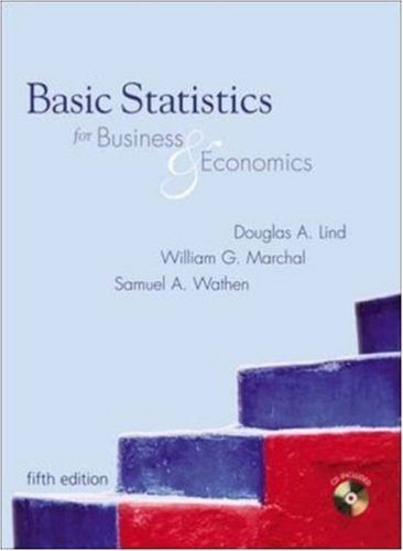 9780073121659: Basic Statistics for Business and Economics with Student CD-ROM