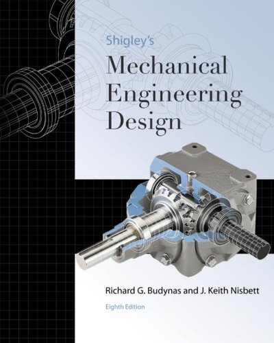 9780073121932: Shigley's Mechanical Engineering Design (McGraw-Hill Series in Mechanical Engineering)