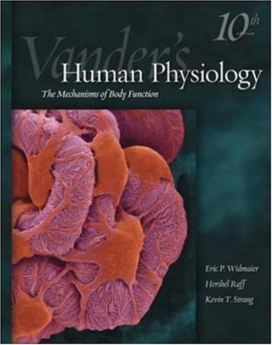 9780073122861: Vander's Human Physiology: The Mechanics of Body Function (Human Physiology (Vander))