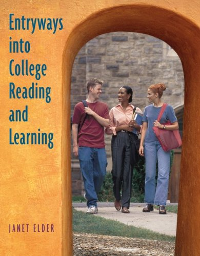 9780073123585: Entryways into College Reading and Learning