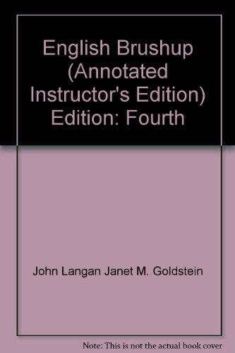 English Brushup: Janet M. Goldstein,