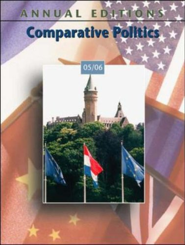 9780073123851: Comparative Politics 2005/2006 (Annual Editions)