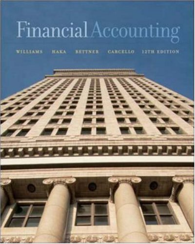 Financial Accounting: Jan R. Williams,