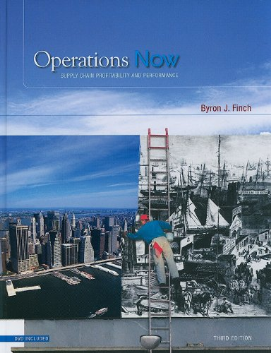 9780073124490: Operations Now: Supply Chain Profitability and Performance