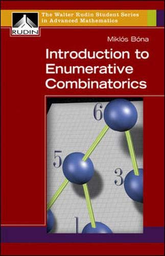 9780073125619: Introduction to Enumerative Combinatorics (Walter Rudin Student Series in Advanced Mathematics)