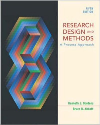 Research Design and Methods with PowerWeb: Kenneth S Bordens,
