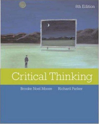 9780073126258: Critical Thinking