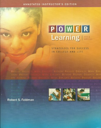 9780073126432: Power Learning: Strategies for Success in College and Life