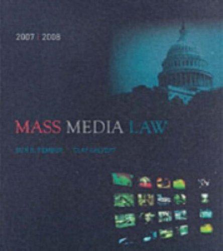 9780073126852: Mass Media Law 2007-2008