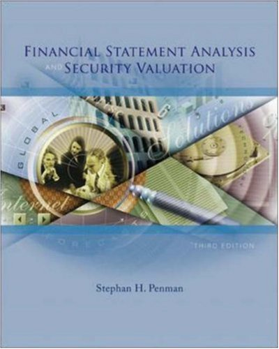9780073127132: Financial Statement Analysis and Security Valuation
