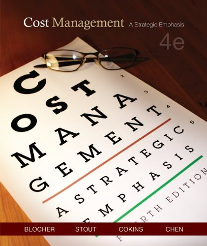 9780073128153: Cost Management: A Strategic Emphasis (4th Edition)