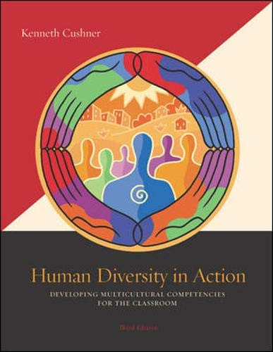 9780073128573: Human Diversity in Action: Developing Multicultural Competencies for the Classroom with PowerWeb