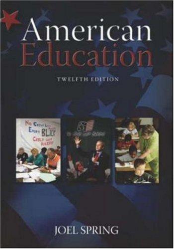 9780073128580: American Education