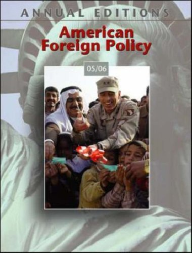 9780073128665: Annual Editions: American Foreign Policy 05/06