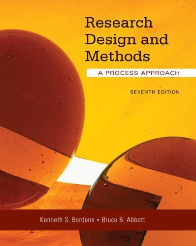 9780073129068: Research Design and Methods: A Process Approach