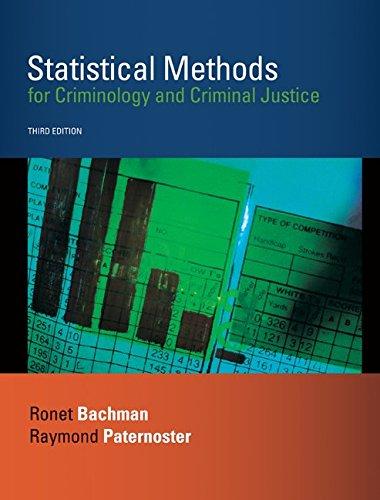 9780073129242: Statistical Methods for Criminology and Criminal Justice