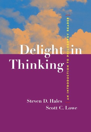 9780073129365: Delight in Thinking: An Introduction to Philosophy Reader