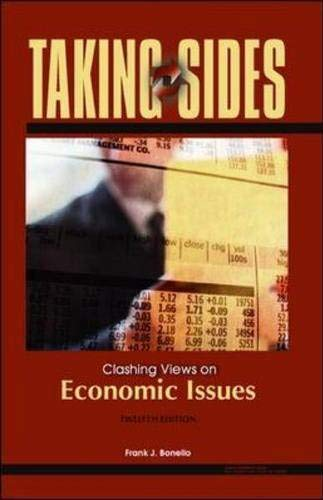 9780073129525: Taking Sides: Clashing Views on Economic Issues (Taking Sides: Economic Issues)