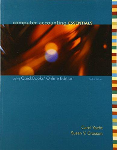 9780073131122: Computer Accounting Essentials Using QuickBooks