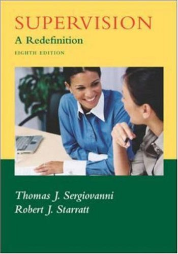 9780073131269: Supervision: A Redefinition
