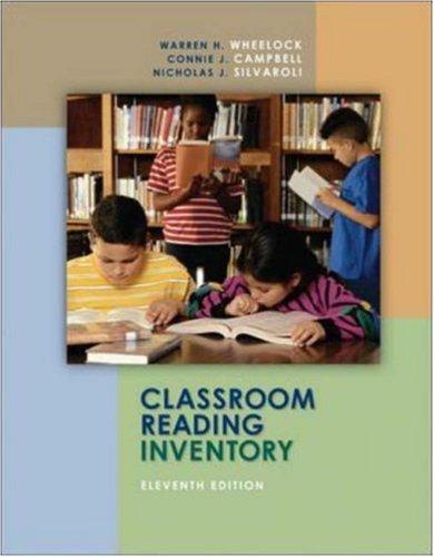 9780073131276: Classroom Reading Inventory