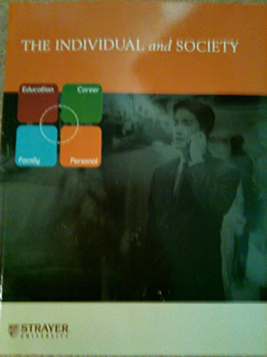 9780073131412: The Individual and Society / Custom Edition