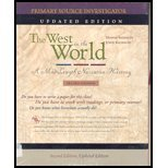 9780073132396: The West in the World, Updated Edition (v. 1)