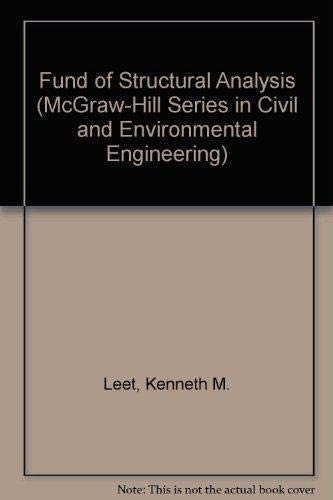9780073132952: Fund of Structural Analysis (McGraw-Hill Series in Civil and Environmental Engineering)