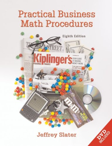 9780073133089: Practical Business Math Procedures w/ DVD, Business Math Handbook, and Wall Street Journal insert