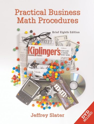 9780073133096: Practical Business Math Procedures, Brief Edition, with DVD and Business Math Handbook