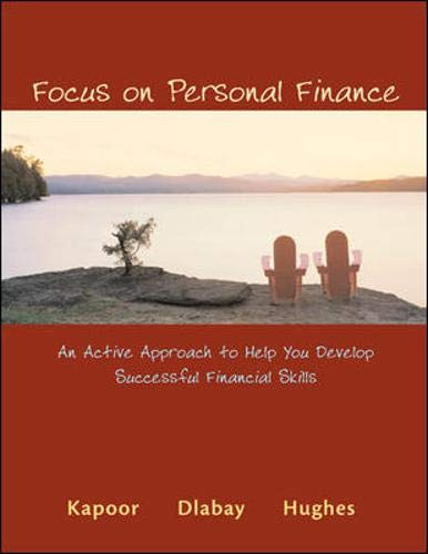 Focus on Personal Finance: Jack R. Kapoor,